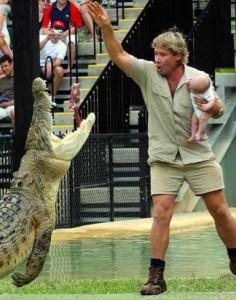Cмерть Стива Ирвина - «охотника за крокодилами».