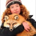 Новосибирская девушка занимается дрессировкой лисиц