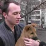 Трёхмесячный щенок смог спасти свою старушку-хозяйку