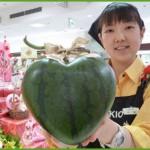 Селекционеры Японии прославились на весь мир удивительными сортами арбузов. Фото. Видео