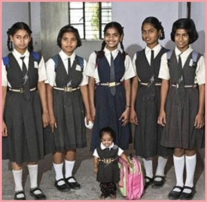 Самая маленькая из женщин в мире. Интересные фото