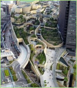 Джунгли в самом центре японского мегаполиса.