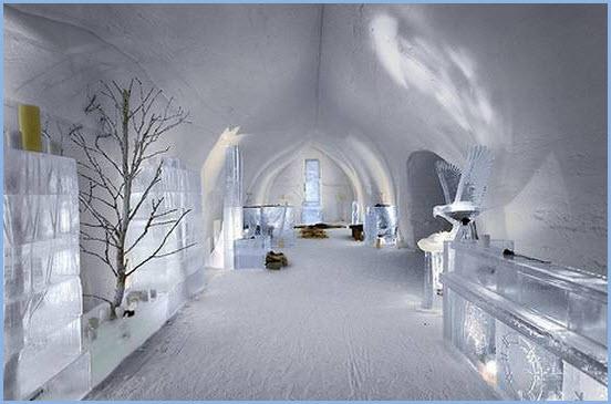 Ледяные отели. Отдых для экстремалов. Фото