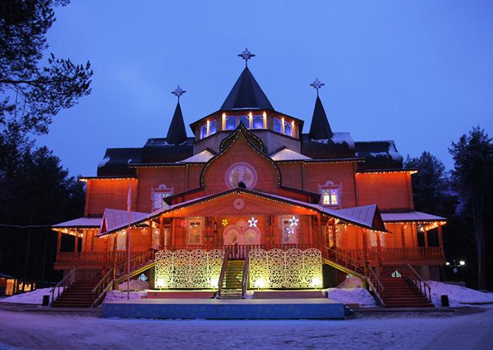 Резиденция деда мороза в россии