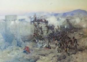 500 русских против 40 000 персов.