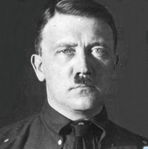 Красноармеец Гитлер против Гитлера фашиста.