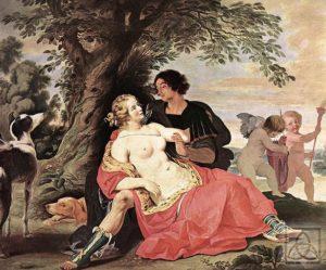 Легенда о любви Афродиты и Адониса (продолжение)