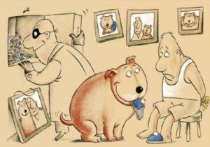 Анекдоты о собаках в Год Собаки (часть вторая).