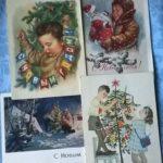 История нашей страны в новогодних открытках